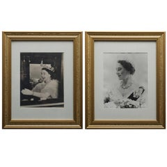 Queen and Queen Mother Period Press Photographs