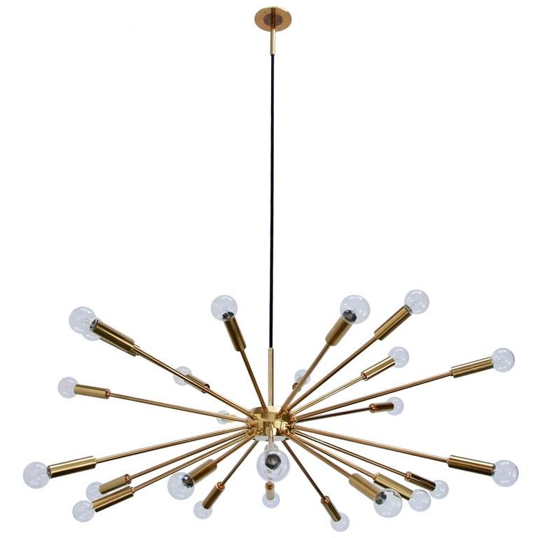 Brass Sputnik in the Manner of Gino Sarfatti