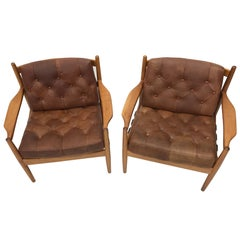 a pair of second empire fauteuil gondole france at 1stdibs. Black Bedroom Furniture Sets. Home Design Ideas