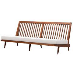 George Nakashima Sofa, New Upholstery