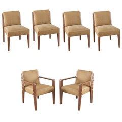 Set of Six Dupre Lafon Style Chairs by Mattaliano