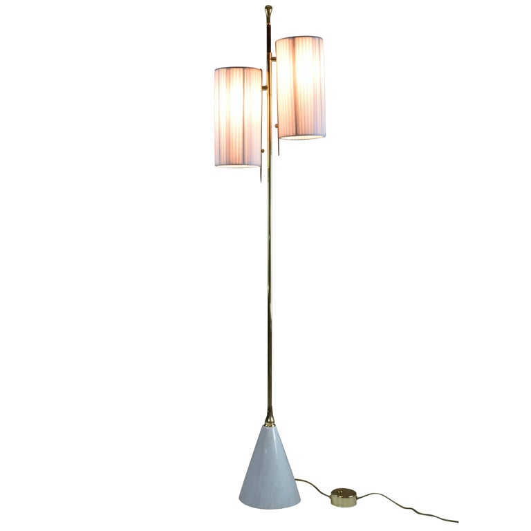 Equilibrium-III M3 Contemporary Floor Lamp, Flow Collection