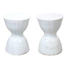 Pair of Tariki Ceramic Stools