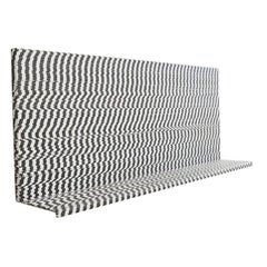 Contemporary Bespoke 'Misfire' Wall Shelf In Textured Steel and Resin