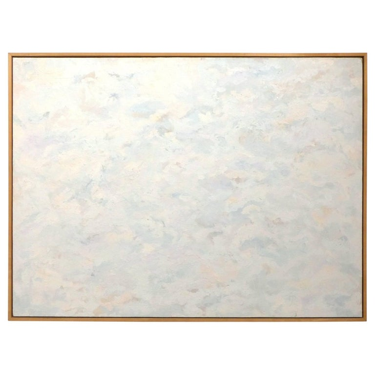 Minimalist Oil on Canvas Painting For Sale