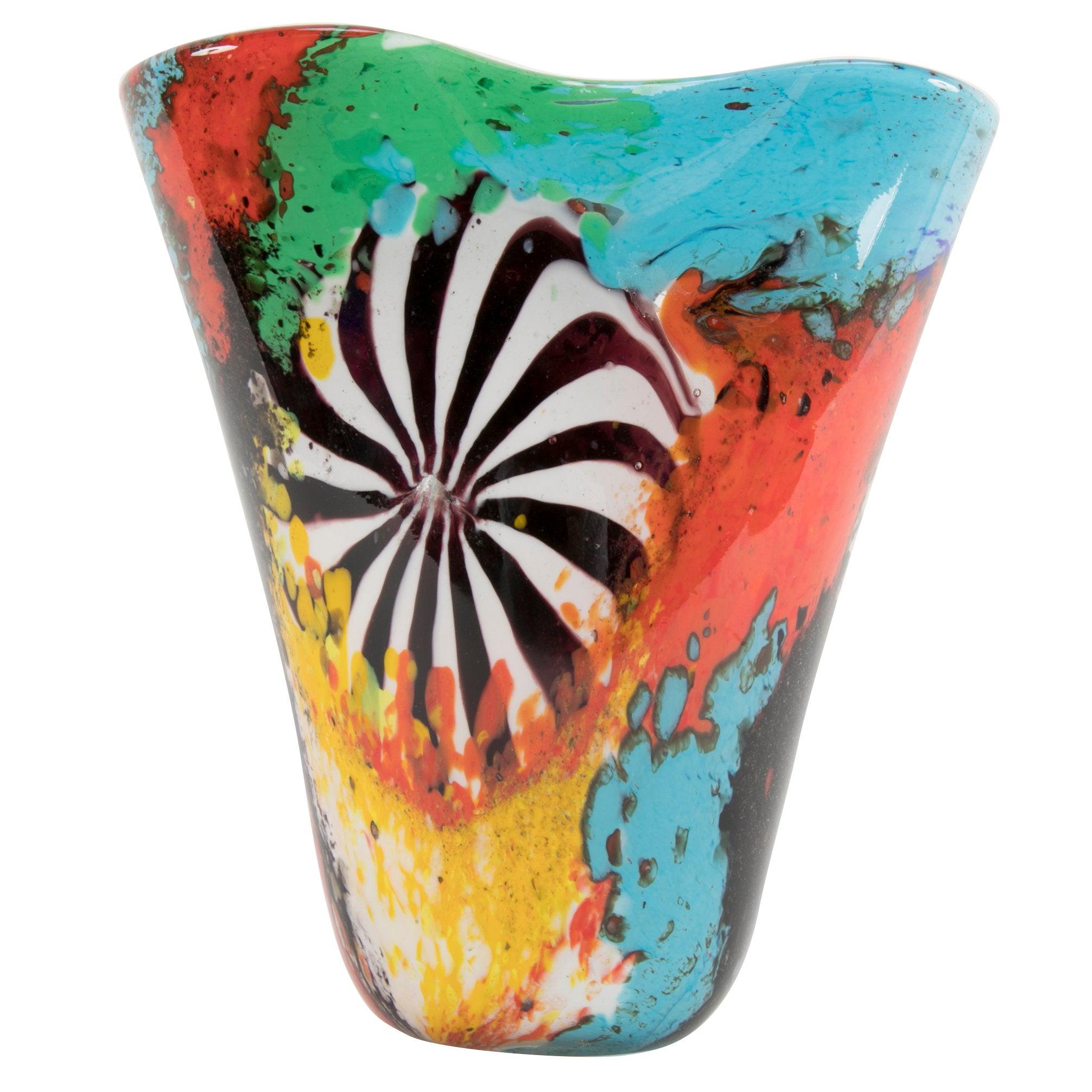 """Dino Martens """"Oriente"""" Vase for Aureliano Toso"""