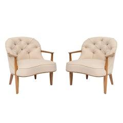 Edward Wormley Janus Lounge Chairs
