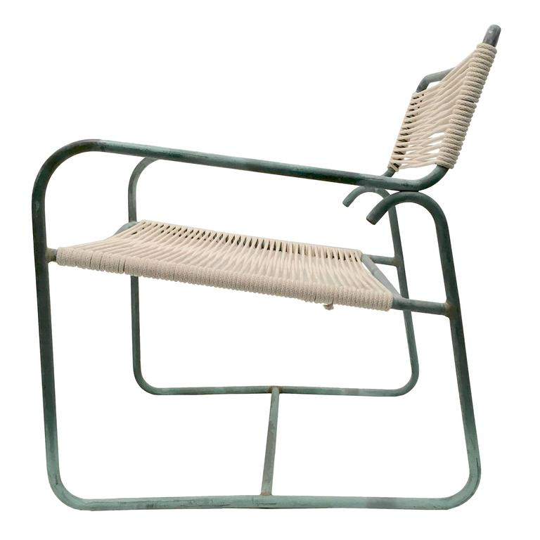 Walter Lamb Wide Lounge Chair