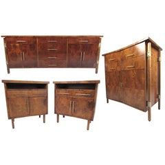 Stunning Vintage Modern Bedroom Set by Romweber