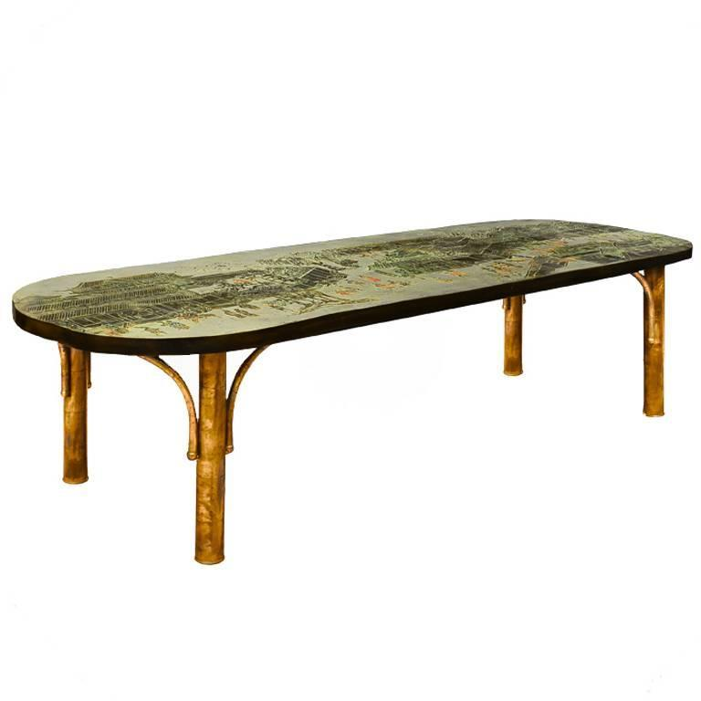 Low Table by Philip and Kelvin LaVerne