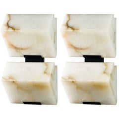 Large 'Block Double' Model #230 Sconce in the Manner of Pierre Charreau