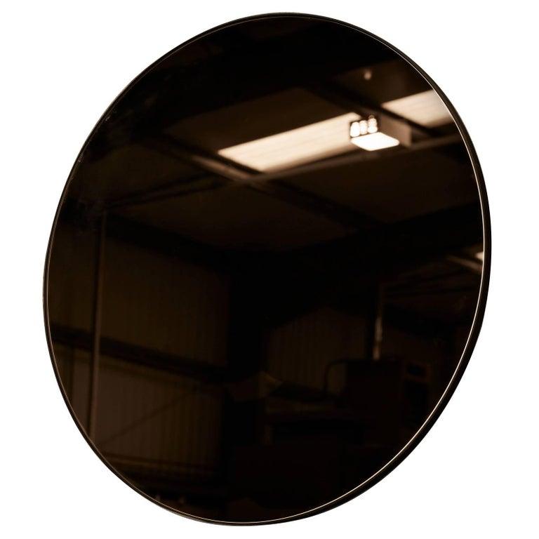 Port Round Minimalist Circular Mirror by Novocastrian For Sale