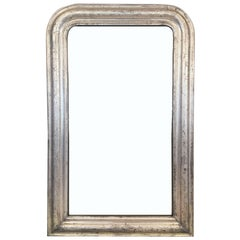 Silver Gilt Louis Philippe Mirror (H 42 1/2 x W 27)