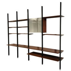 George Nelson Four Bay CSS Shelving Unit, Herman Miller, 1960