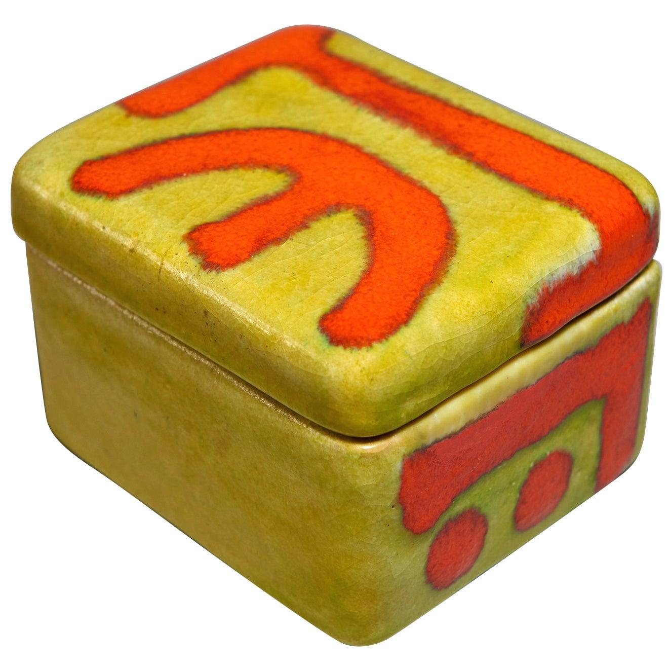 Ceramic Box by Guido Gambone