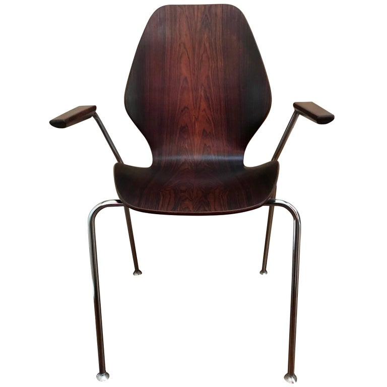 Midcentury Danish Rosewood Chair For Sale
