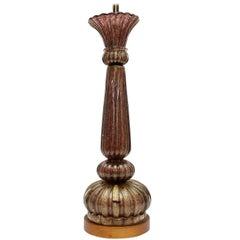 Mid-Century Modern Murano Lamp