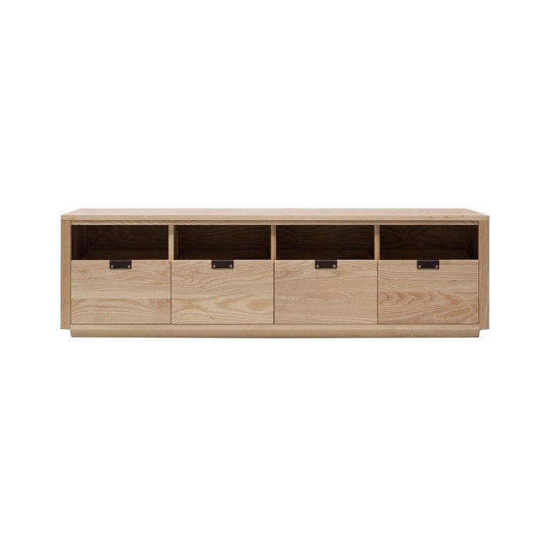 Dovetail 4 x 1 Vinyl Storage Cabinet For Sale