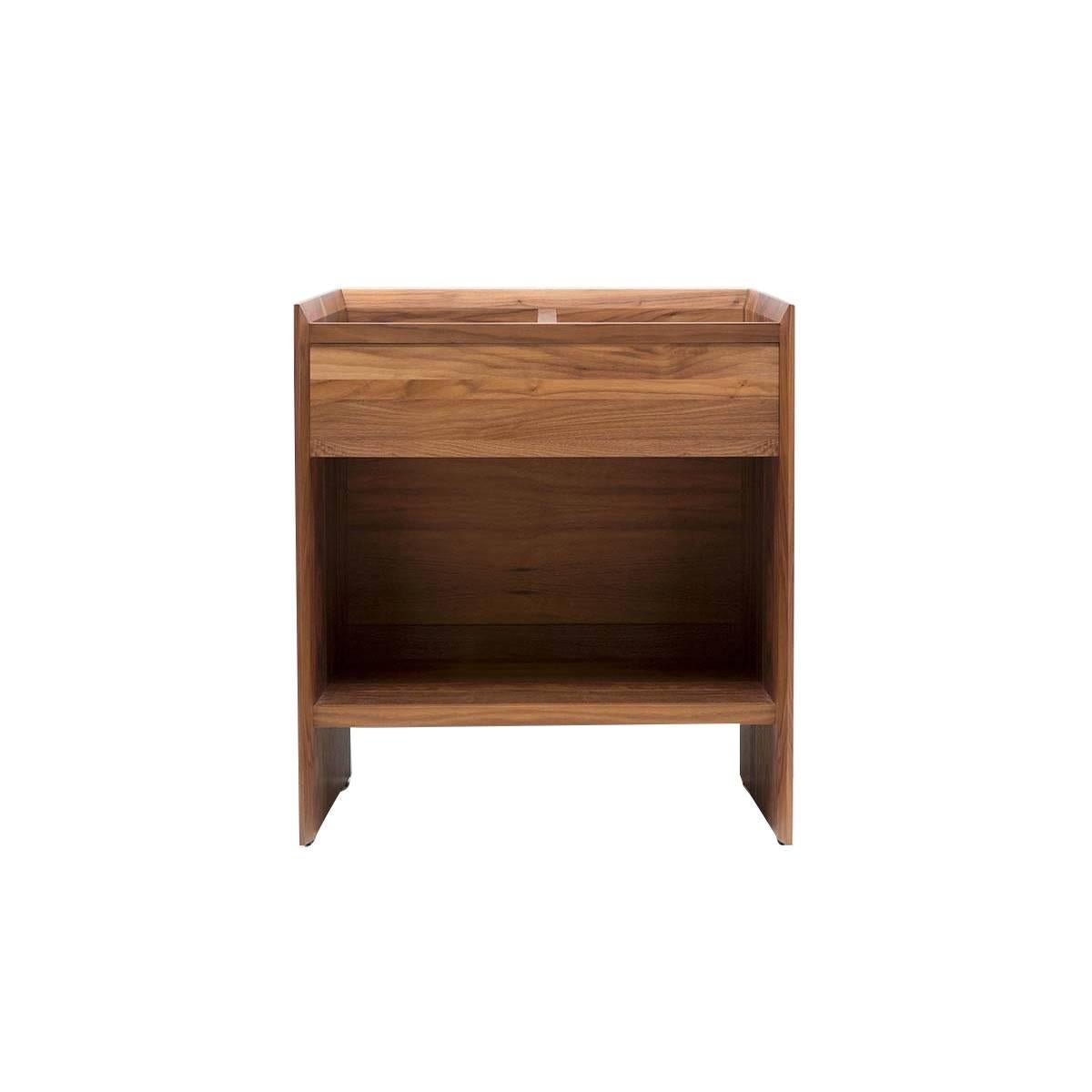 24 unison vinyl record storage stand natural walnut for sale at 1stdibs