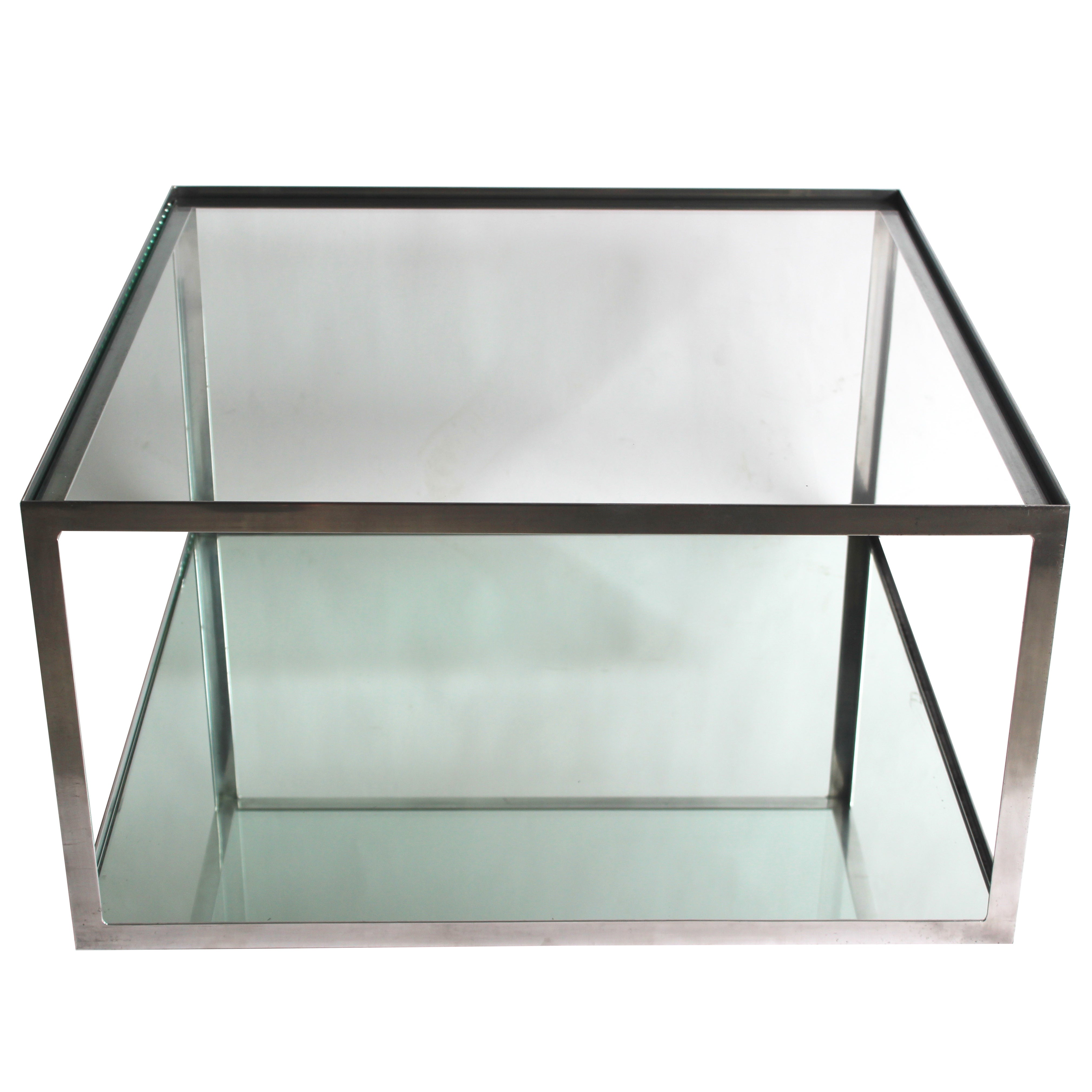 Two-tier Aluminum Coffee Table