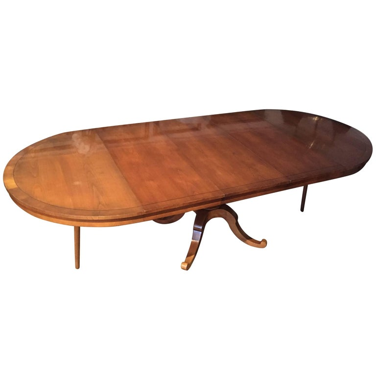 Long Dining Tables For Sale: Versatile Round And Expandable Vey Long Oval Cherry Dining