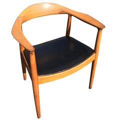 """Hans Wegner Style """"The Chair"""" Armchair"""