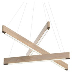 Line Light 406040 White Ash (transverse) by Matthew McCormick Studio