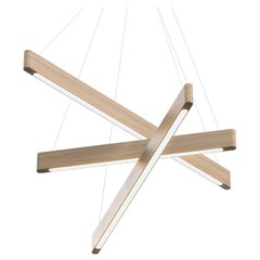 Line Light 604060 White Ash (transverse) by Matthew McCormick Studio