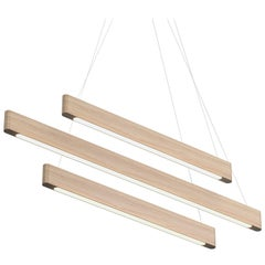 Line Light 406040 White Ash (linear) by Matthew McCormick Studio