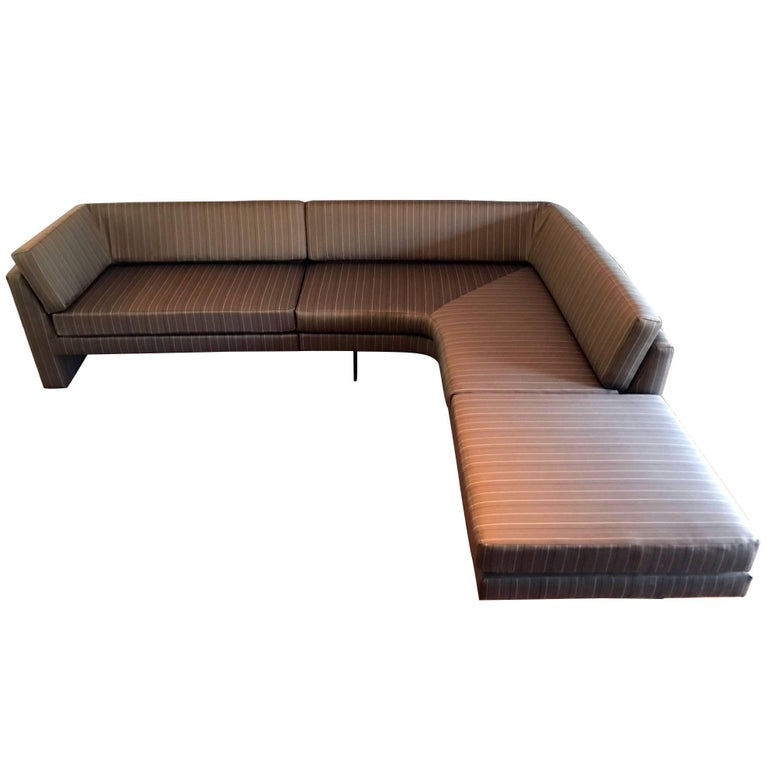 Fantastic Sectional Omnibus Sofa by Vladimir Kagan For Sale