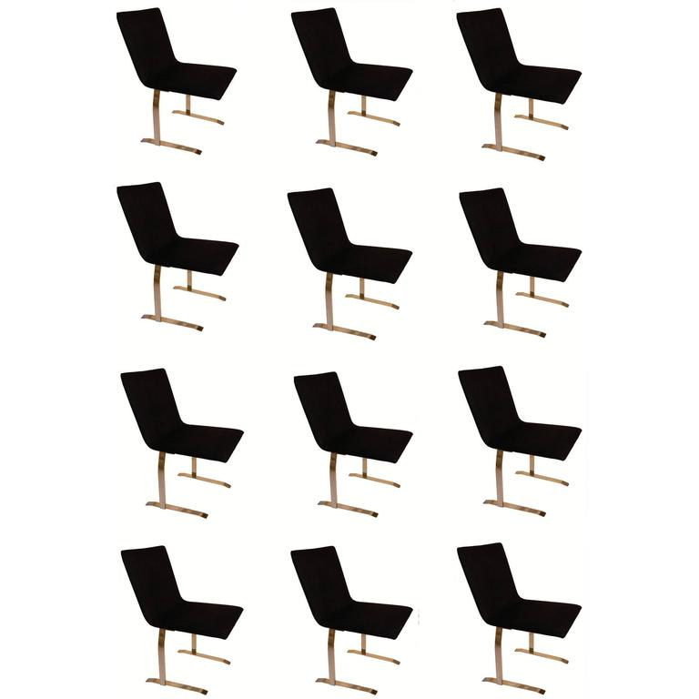 Set of 6 Labeled Saporiti Chairs