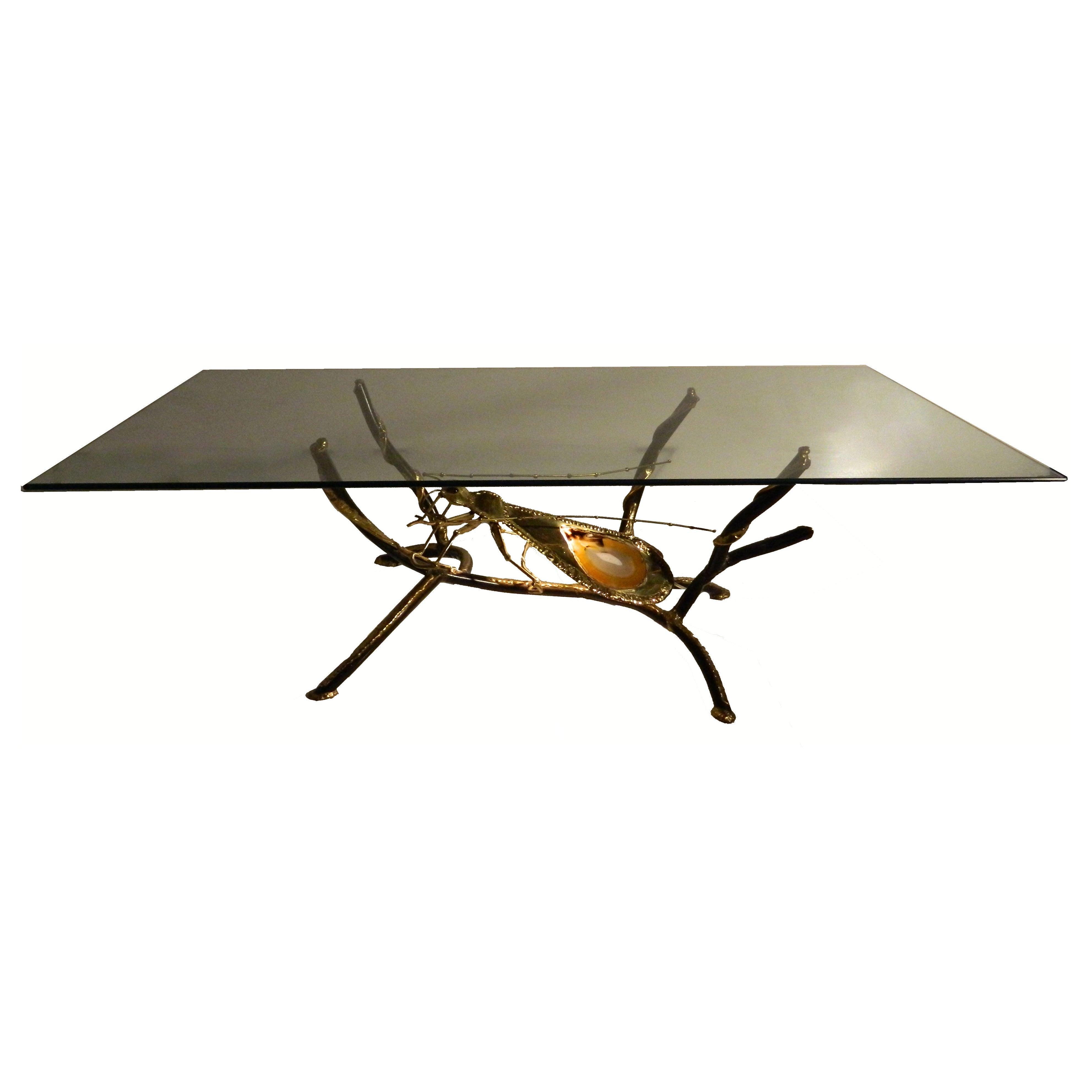 Henri Fernandez for Atelier Duval-Brasseur Huge Coffee Table Sculpture