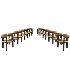 Augosto Savini Set of Sixteen 'Pamplona' Chairs