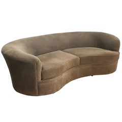 Vladimir Kagan Serpentine Sofa, Mid-Century Modern, 1970s