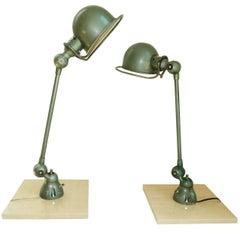 Pair of Jieldé Table Lamps