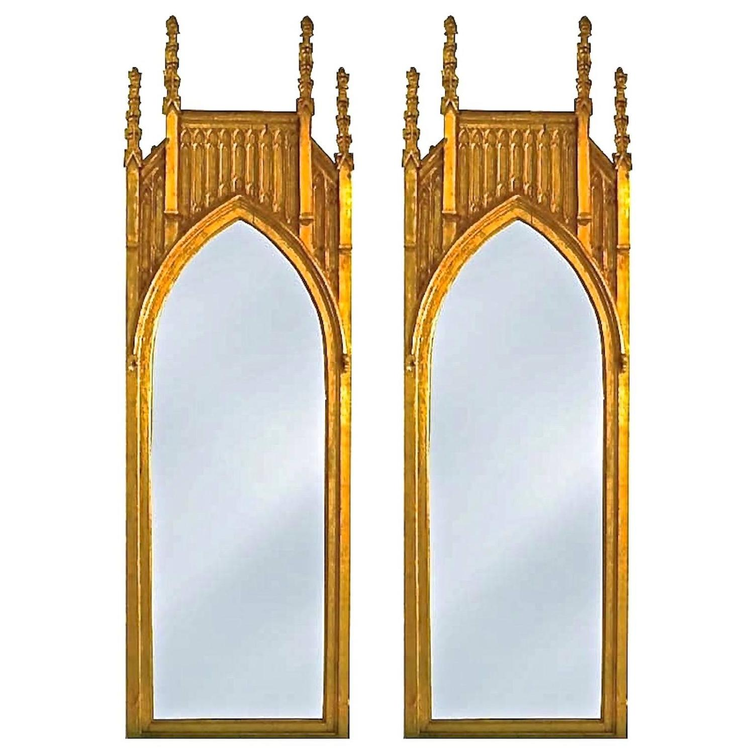 Arched gilt mirror at 1stdibs - Arched Gilt Mirror At 1stdibs 43