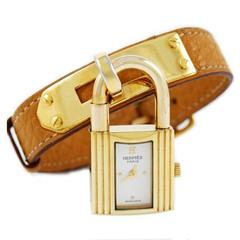 hermes kelly watch. hermes kelly watch with gold hardware hermes