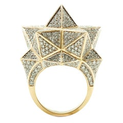 Star Tetra Diamond Ring