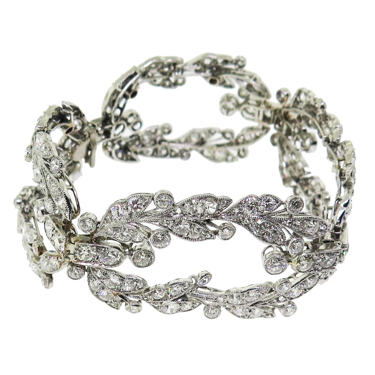 cartier diamond bracelet at 1stdibs