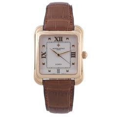 Vacheron Constantin Yellow Gold Toledo Classique Square Self-Winding Wristwatch
