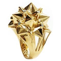 Nova Diamond Gold Ring