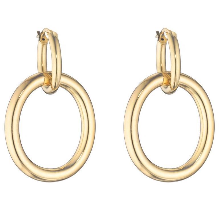 Faraone Mennella Gold Drop Earrings