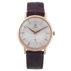Omega Rose Gold Oversize Automatic Wristwatch Ref 2899 1