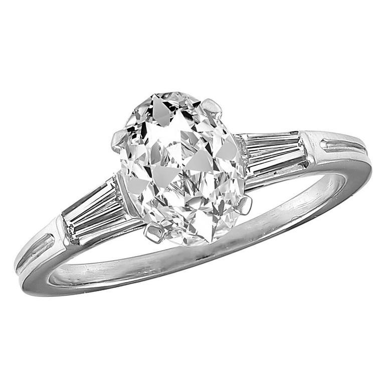 Tiffany & Co. 1.20 Carat Diamond Platinum Engagement Ring