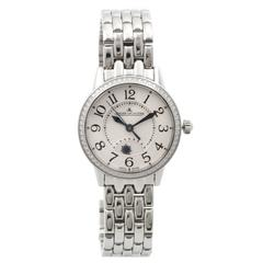 Jaeger LeCoultre Stainless Steel Rendez-Vous Wristwatch