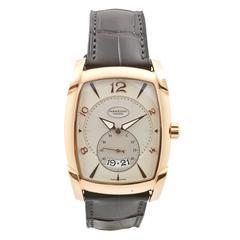Parmigiani Fleurier Rose Gold Tank Wristwatch