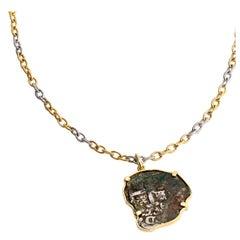 Spanish Treasure Coin Necklace