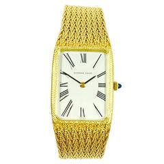 Audemars Piguet Yellow Gold Mechanical Wristwatch