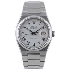 Rolex Stainless Steel Oysterquartz Datejust Wristwatch Ref 17000B