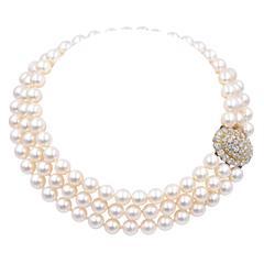 Van Cleef & Arpels Pearl Necklace
